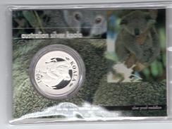 8729 Australien Australia Australian Silver Koala 1 Feinunze Silber  Auflage 2000 - Australien