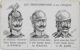 CPA Satirique Caricature Anti Kaiser Guillaume II Patriotique Allemagne Germany Non Circulé Pot De Chambre - Satirical