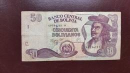 BOLIVIE : 50 Bolivianos - Bolivia