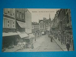 """80 ) Amiens - La Place Du Marché Lancelles """" Attelage """"- Année   -  EDIT - Caron - Amiens"""