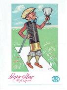 """Affichette 1953 Illustrée Par OCHS -  FABRIQUE NATIONALE D'ARMES DE GUERRE, HERSTAL - Cartouche """"LEGIA STAR HIGH SPEED"""" - Pubblicitari"""
