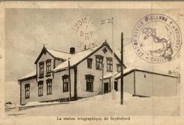 LA STATION TELEGRAPHIQUE DE SEYDISFJORD - Iceland