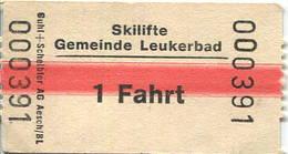 Schweiz - Skilifte Gemeinde Leukerbad - Bahn