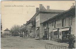 Saone Et Loire : Varennes-St-Sauveur, Rue Principale - Francia