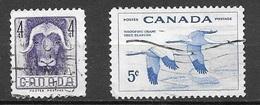 1955 - Set Of 2 National Wildlife Week - Used