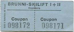 Schweiz - Brunni Skilift I + II - Engelberg - Bahn