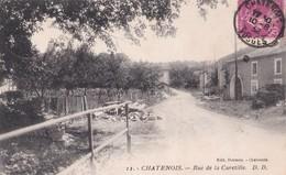 Carte 1920 CHATENOIS / RUE DE LA CURETILLE - Chatenois