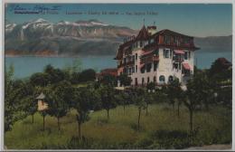 Hotel-Pension La Prairie - Lausanne Chailly (alt. 650 M) - Vue Depuis L'Hotel - Photo: Guggenheim No. 8810 Litho - VD Vaud