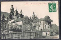 SAINT - PHAL . La Rue Du Faubourg Saint - Denis - L'Eglise . - France