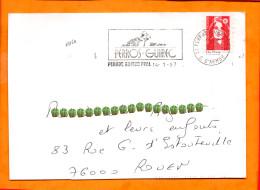 COTES D'ARMOR, Perros Guirec, Flamme SCOTEM N° 12160 - Marcophilie (Lettres)
