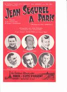 """Partition Accordéon: """"Jean Ségurel à Paris"""", """"Rendez-vous En Limousin"""", MONEDIERE, NOGUEZ, MARGELLI, VAR, MARTINI, DULEU - Autres"""