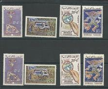 TUNISIE Scott B130, B133, B134-B137 Yvert 533-536, 576-579 (8) *LH Cote 5,50$ - Tunisie (1956-...)