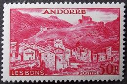Andorre  Y&T N° 152 Neuf (charnière) TBE