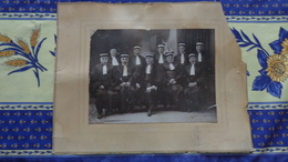Photo Format  17cm X 22cm Sur Support 34cm X 26cm De Magistrats Et Juges - Guerra, Militari