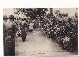 Malawi (Colonie) - Nyassaland - Vicariat Apostolique Du Shiré - Père De La Cie De Marie - Danse Angoni - Malawi