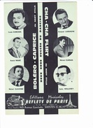 "Partition Accordéon: ""Boléro Caprice"", ""Cha-Cha Flirt"", Nardy SYLLA, CORCHIA, MAHE, CLAVERIE, LASSAGNE, CURSAN, MALLEREY - Musique & Instruments"