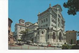 2986  Postal   Monaco,   La Catedral - Palacio Del Príncipe
