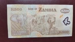ZAMBIE : 500 Kwacha 2009 - Zambia