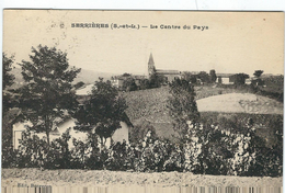 Saone Et Loire : Serrières, Le Centre Du Pays - Otros Municipios