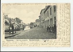 Dendermonde   *  Rue Des Remparts - Vest Straat - Dendermonde