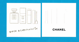 Cartes Parfumées  Carte CHANEL COCO MADEMOISELLE De  Chanel - Modernes (à Partir De 1961)