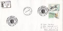 4924FM- ALBERT EINSTEIN, STAMPS AND SPECIAL POSTMARK ON REGISTERED COVER, 2000, ROMANIA