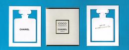 Cartes Parfumées  Carte CHANEL COCO MADEMOISELLE De  Chanel Avec Pochette étui - Cartes Parfumées