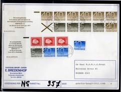 Parcel Card 1978 Two Complete Booklets Delftseplein 1978 (La4-9) - Heftchen Und Rollen
