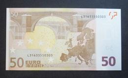 50 Euro L FINLAND, DRAGHI, R049 C5, AUNC - EURO