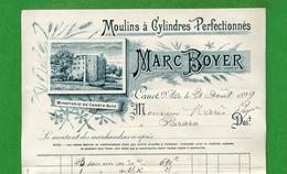 DF-FR 11 Aude Canet 1899 Marc Boyer Moulins à Cylindres Pérfectionnés - France