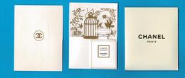 Cartes Parfumées  Carte CHANEL COCO MADEMOISELLE De  CHANEL Avec POCHETTE ETUI - Cartes Parfumées