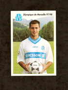 13 . MARSEILLE . OLYMPIQUE DE MARSEILLE 97/98 . JEAN CHRISTOPHE MARQUET - Calcio