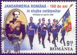 USED ROMANIA 2010, 160 Years Police 1V