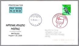 NATIONAL ATHLETIC MEETING. ESGRIMA - FENCING. Matsudo, Japon,  2005