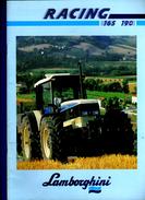 BROCHURE TRACTEUR LAMBORGHINI RACING 165 190 - Tractors