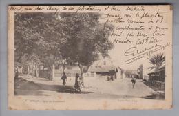 AK Afrika Senegal Dakar 1904-03-23 Coin Du Boulevard Foto Fortier (fleckig) - Sénégal