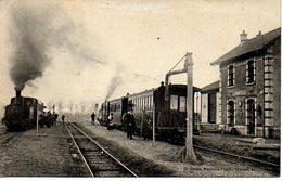 54 HERBEVILLER - La Gare - Autres Communes