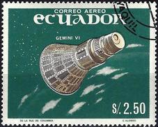 Ecuador 1966 - Rocket Gemini VI ( Mi 1212 - YT Pa 455 ) Airmail