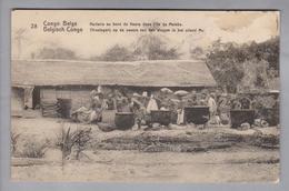 AK Afrika Kongo (belg.) 1923-02-02 Elisabethville Bildganzsache #28 - Congo Belge - Autres