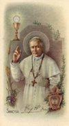 Santino Antico SAN PIO X PAPA (Marcato Eb 2/361) - PERFETTO N29 - Religione & Esoterismo