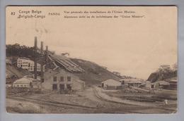 AK Afrika Kongo (belg.) 1923-12-06 Likasi GS 15 Cent #32 Panda - Congo Belge - Autres