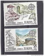 Andorra Española Nº 168 Al 169 - Nuevos