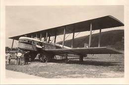 Aviation -Aviateur - Avion Goliath In Basel - Aviation Commerciale