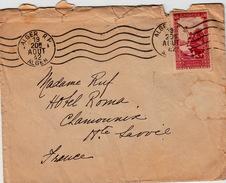 ALGERIE  - LETTRE ALGER  POUR CHAMONIX Hte SAVOIE - 19.8.1942 - Brieven En Documenten