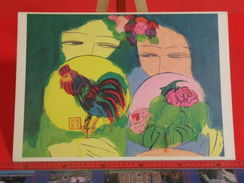 Cartes Postales > Thèmes > Arts > Peintures & Tableaux Walasse Ting, Collection New York - Non Circulé - Paintings