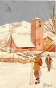 Illustr. MAGRINI  Oppure PELLEGRINI? Svizzera Inizi 900 - - Illustratori & Fotografie