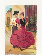 Escenas Andaluzas 60 - Robe Brodée - Elsi - Embroidered