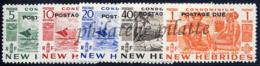 -Nouvelles-Hébrides Taxe 31/35** - New Hebrides