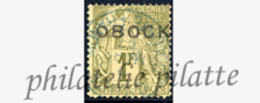 -Obock 20 Obl - Unused Stamps