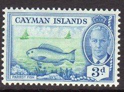 Cayman Islands GVI 1950 3d Definitive, Hinged Mint, SG 141 - Kaimaninseln